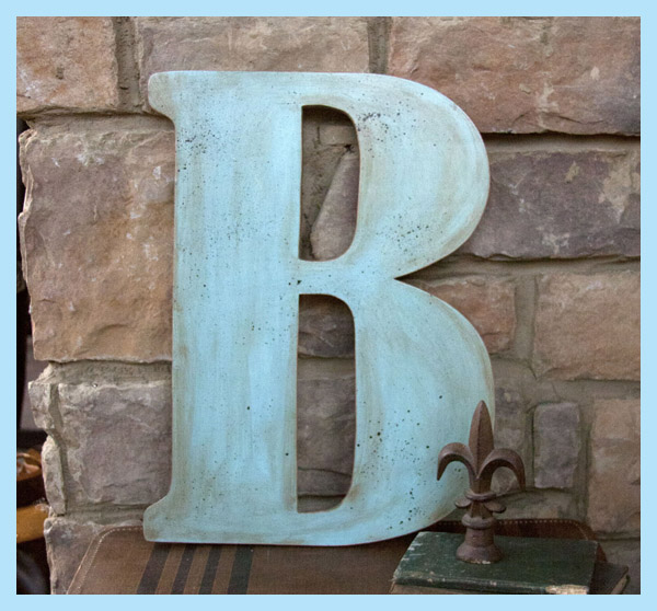 Wall decor letters wood home decoration club - Wood letter wall decor ...